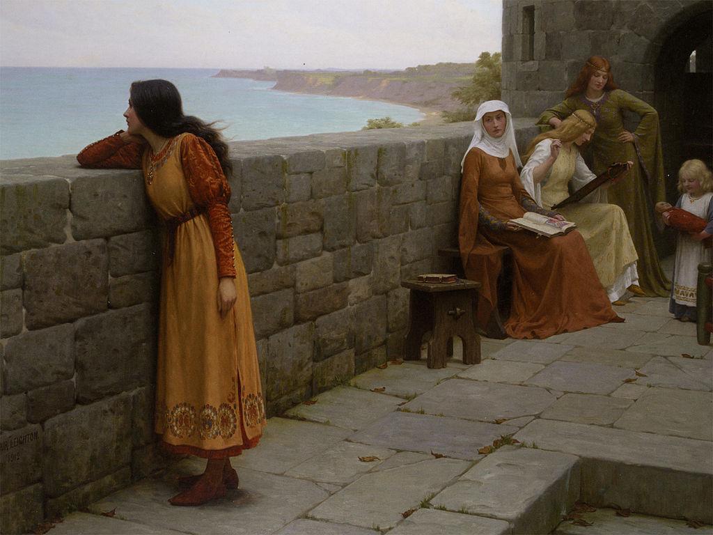 The Hostage by Edmund Blair Leighton