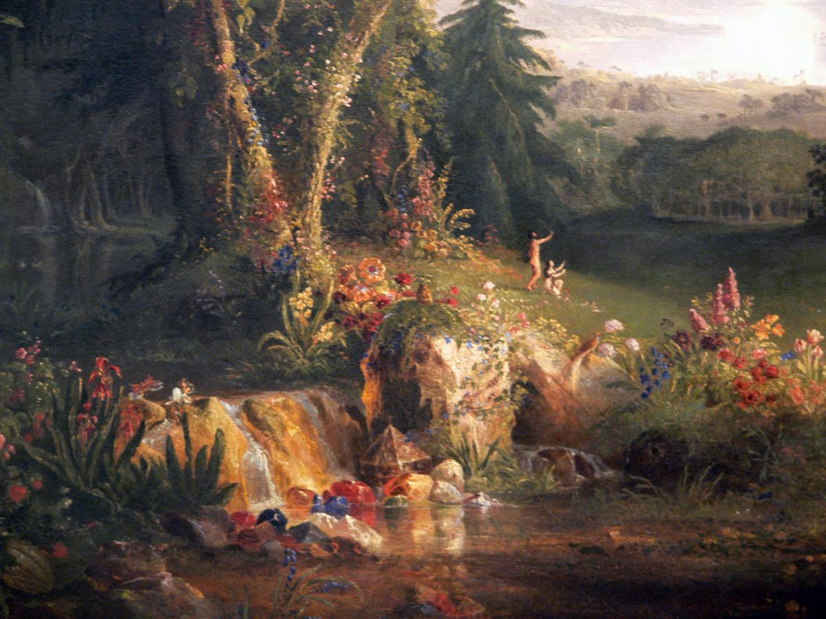 The Garden of Eden by Thomas Cole, 1828