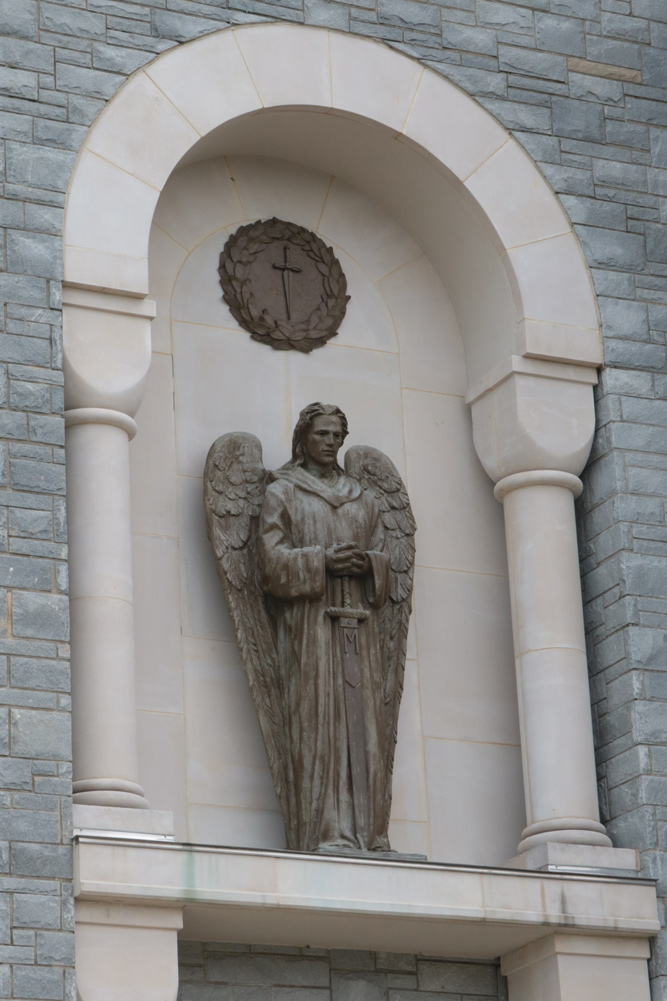 St. Michael the Archangel statue
