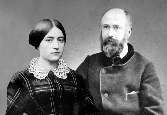 Louis and Zelie Martin, photo from https://www.littleflower.org/therese/life-story/her-parents/